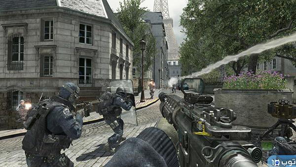 أهم 10 أسلحة في Call Of Duty MW3