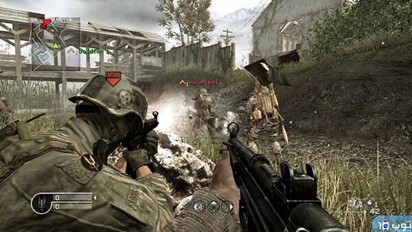 أهم 10 شخصيات في لعبة Call Of Duty 4
