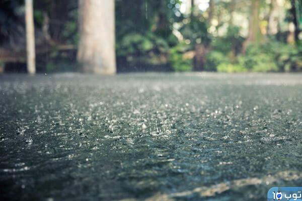 تفسير حلم المطر الغزير