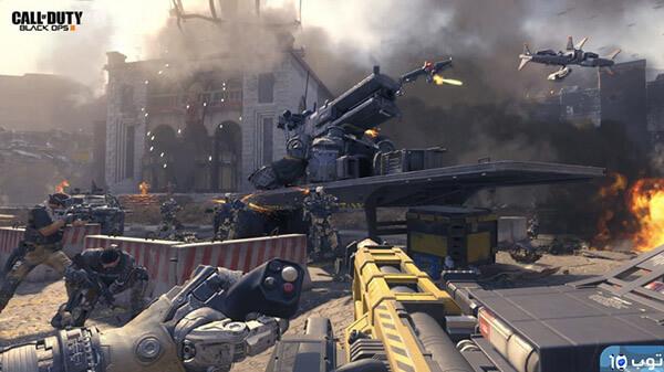 مستويات لعبة Call of Duty Black Ops 3 للكمبيوتر